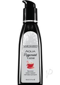 Wicked Aqua Peppermint Cocoa Lube 2oz