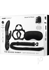 The Beaded Rabbit Bondage Gift Set Black