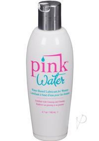 Pink Water Lube 4.7 Flip Top Bottle