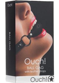 Ouch Gag Ball Black
