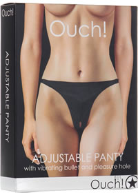 Ouch! Adjustable Panty Black