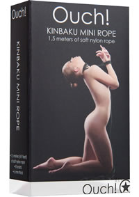 Ouch! Kinbaku Mini Rope 1.5m Black