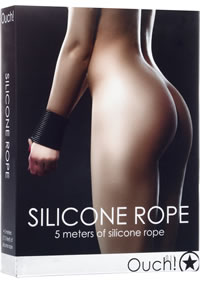 Ouch! Silicone Rope Black