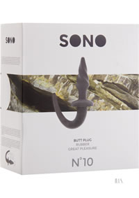 Sono No 10 Butt Plug 4 Grey
