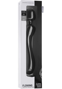 Mjuze Flowing Rechargeable Wand Black