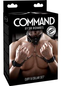 Sir Richards Command Cuff And Collar Set