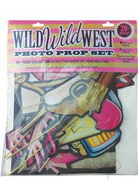 Wild Wild West Photo Prop Set