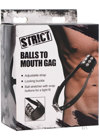 Strict Balls To Mouth Gag