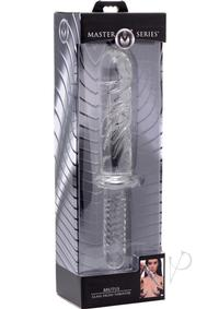 Ms Brutus Glass Dildo Thruster