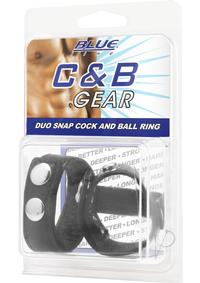 Cb Gear Duo Snap Cock and Ball Ring