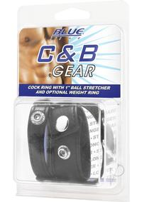 Cb Gear Cockring W/ball Stretcher 1