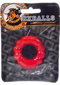6 Pack Cockring Red
