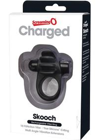 Charged Skooch Ring Black
