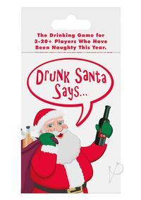 Drunk Santa Says