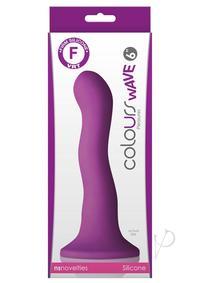 Colours Wave 6 Inch Dildo Purple