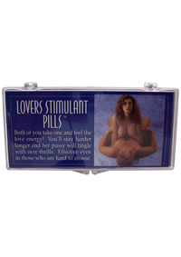 Lovers Stimulant Pills (disc)