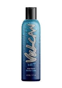 Vulcan Wet Water Based Stroker Lube 6oz