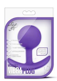 Luxe Wearable Vibra Plug Purple