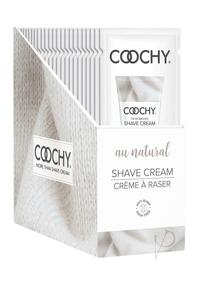 Coochy Shave Au Natural Foils 24/disp