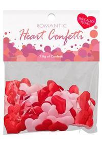 Romantic Heart Confetti