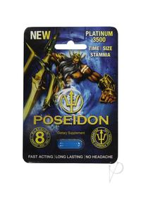 Poseidon 3500 Blue 1ct Pill
