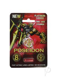 Poseidon 10000 Red 1ct Pill