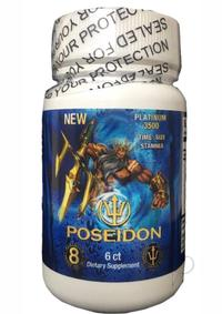 Poseidon 3500 Blue 6 Ct/bottle