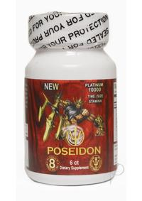 Poseidon 10000 Red 6 Ct/bottle