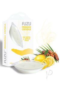 Fuzu Massage Candle Fiji Dates/lemon 4oz