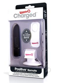Charged Positive Remote Control Black
