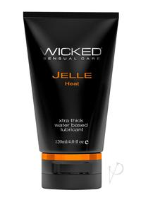 Wicked Jelle Heat Waterbase Anal Gel 4oz