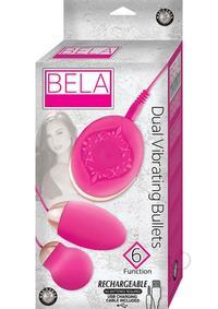 Bela Dual Vibrating Bullets Pink