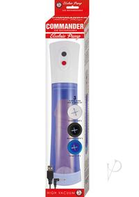 Commander Electric Pump Blue
