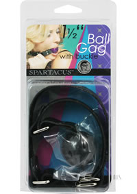 Small Black Ball Gag - Buckle