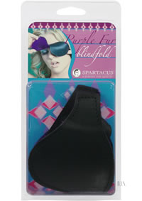 Purple Fur Line Blindfold - Classic Cut