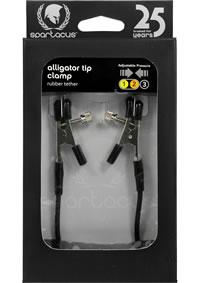 Blackline Adj Alligator Clamps