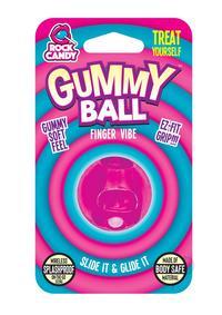 Rock Candy Gummy Ball Blister Pink