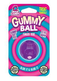 Rock Candy Gummy Ball Blister Purple