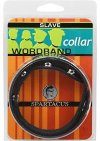 Wordband Collar - Slave