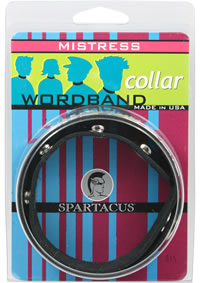 Wordband Collar - Mistress