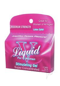 Liquid V For Women - 3pk Tubes