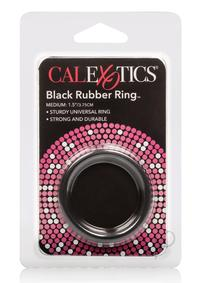 Rubber Cock Ring Black Medium