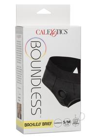 Boundless Backless Brief S/m Black