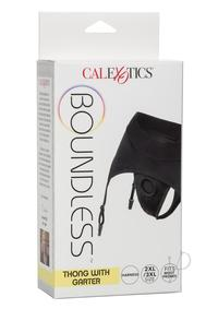 Boundless Thong Garter 2xl/3xl Black