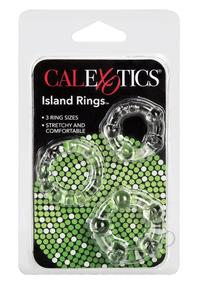 Silicone Island Rings-clear