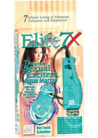 Elite 7x Sexual Exciters Aqua (disc)