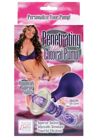 Penetrating Mini Clitoral Pump