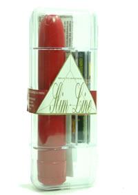 Slimline Red W/battery (disc)