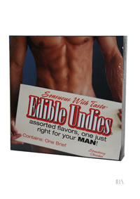 Edible Undies Male Strw/choc (disc)