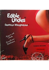 Edible Undies 2pc Chocolate